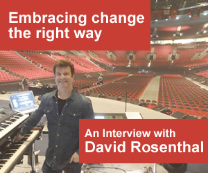 Embracing change the right way: An Interview with David Rosenthal
