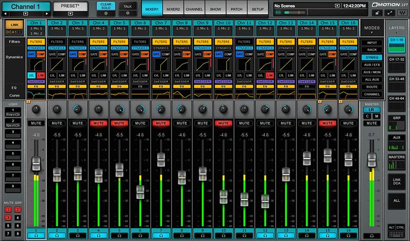 kvr waves audio now shipping the emotion lv1 live mixer. Black Bedroom Furniture Sets. Home Design Ideas