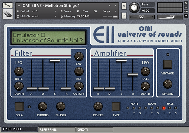 Emulator II OMI Universe of Sounds Volume 2