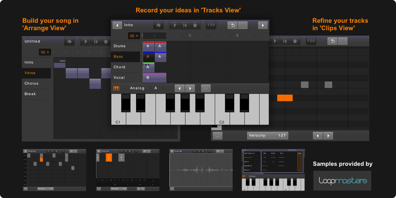 Kvr Energyxt For Ios By Xt Software Sequencer Multitrack