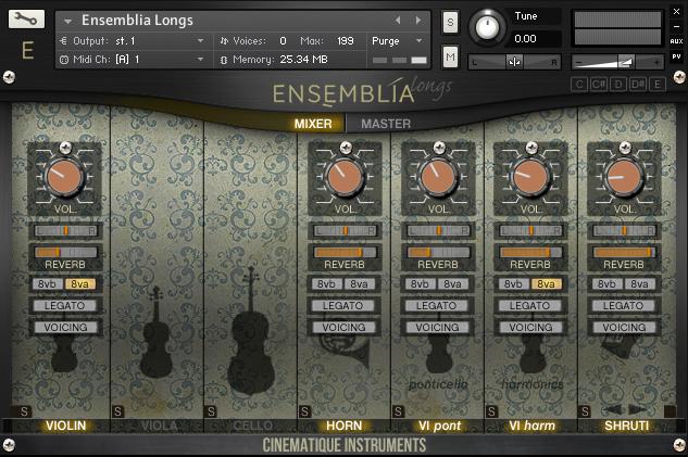 KVR: Cinematique Instruments releases Ensemblia for Kontakt