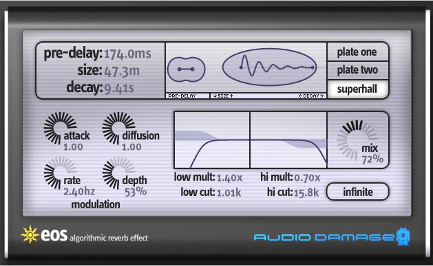 Resultado de imagen de Audio Damage Eos