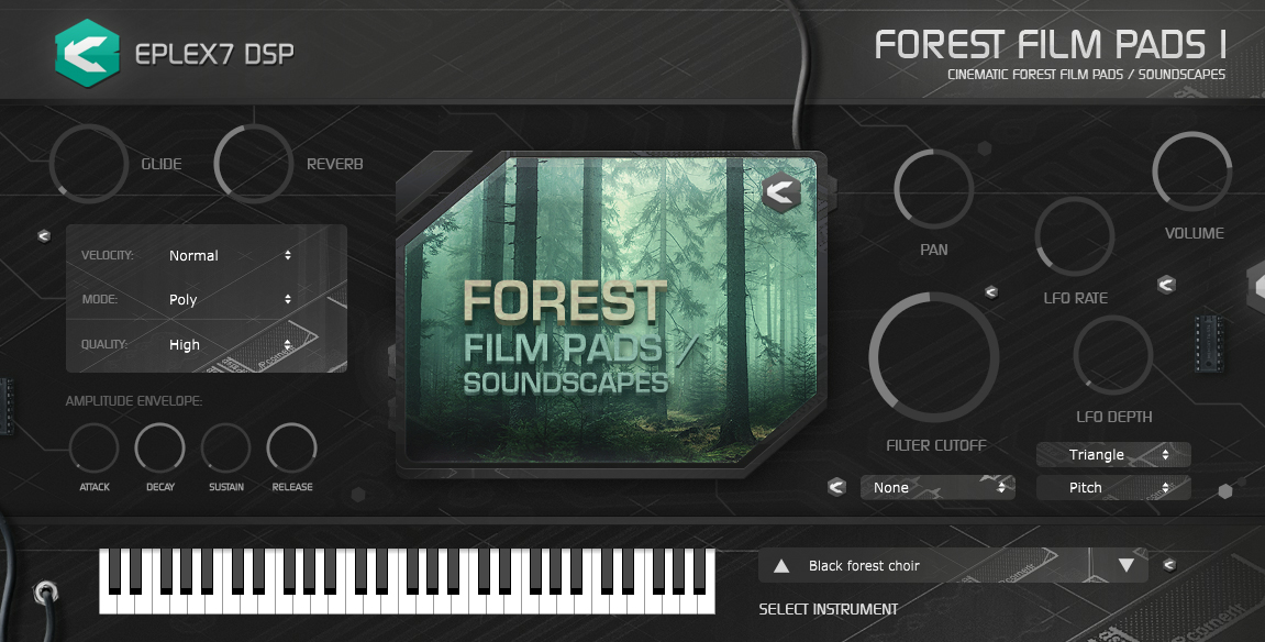 Forest Film Pads 1