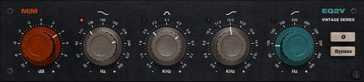 EQ2V Vintage Equalizer