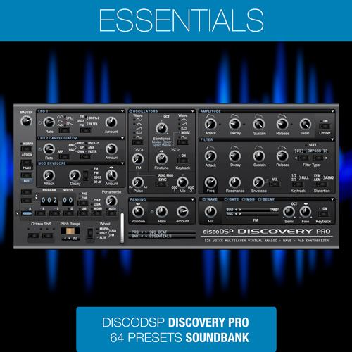 Essentials - Discovery Pro 6 Sound Bank