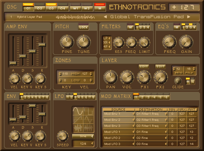 KVR: Ethnotronics Pro by Back In Time Records - World VST Plugin