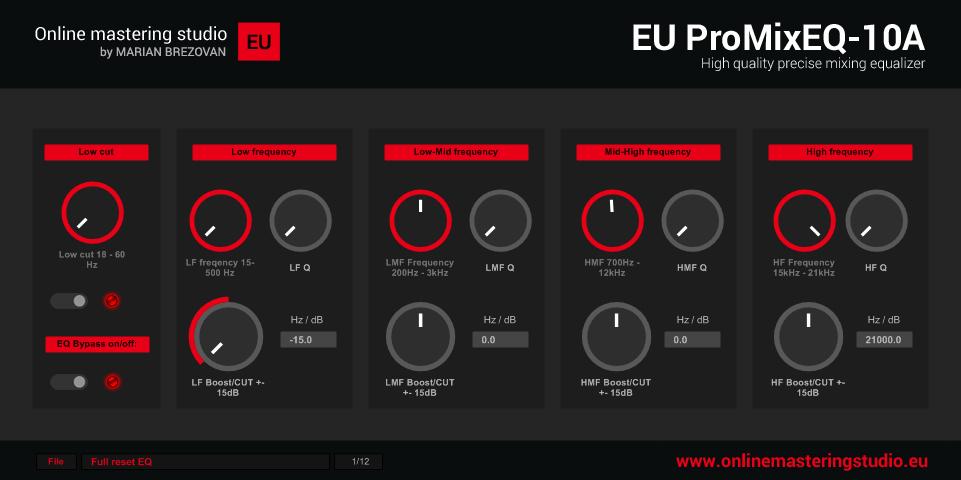 EU ProMixEQ-10A