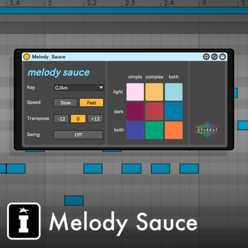 KVR: Melody Sauce M4L (Max For Live Device) by EVAbeat