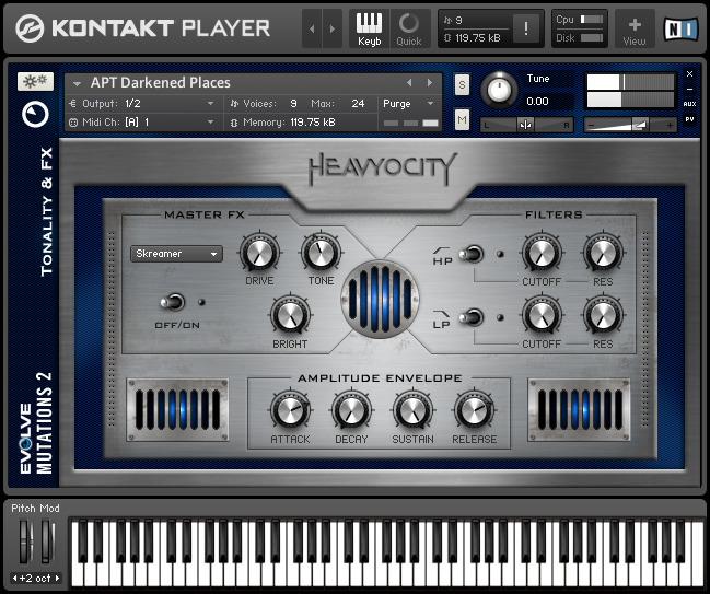 Native Instruments Evolve Mutations 2 KONTAKT DVDR
