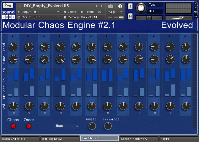 Modular Chaos Engine #2.1 - Evolved