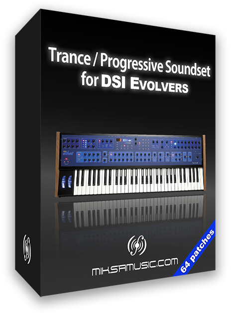 Trance/Progressive Presets for DSI Evolvers (64 patches)