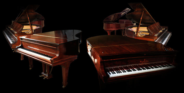 Steinway Walnut Concert Grand Piano