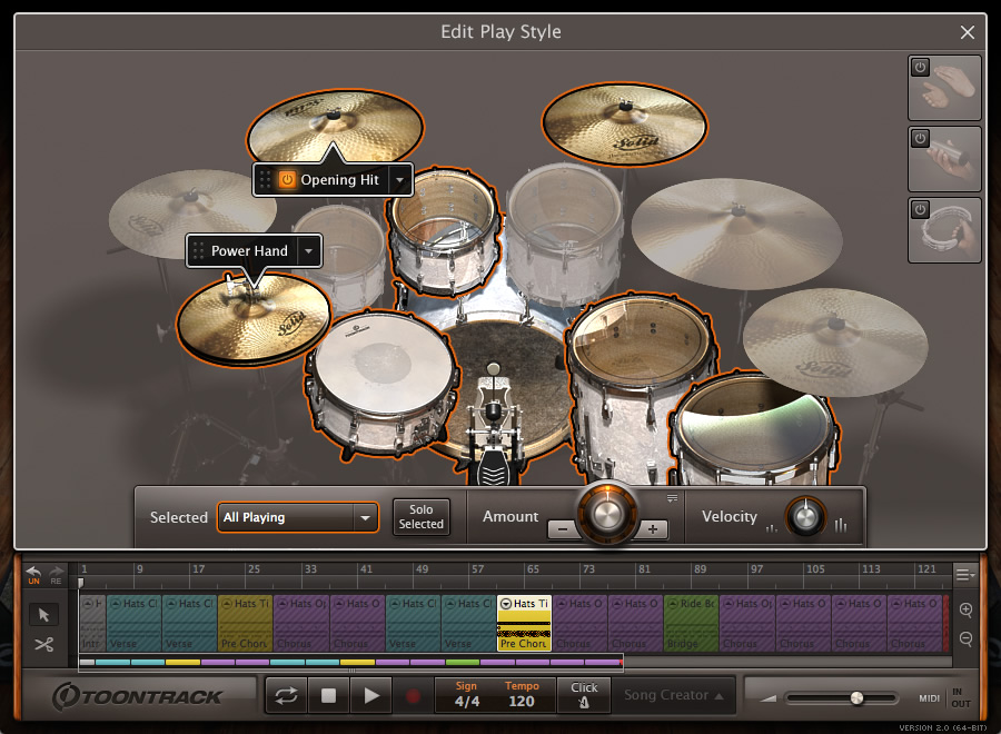 kvr ezdrummer by toontrack music drum kits vst plugin audio units plugin rtas plugin and. Black Bedroom Furniture Sets. Home Design Ideas
