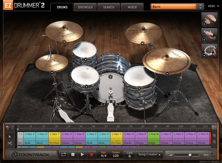 KVR: EZdrummer by Toontrack Music - Drum Kits / Loops VST Plugin ...