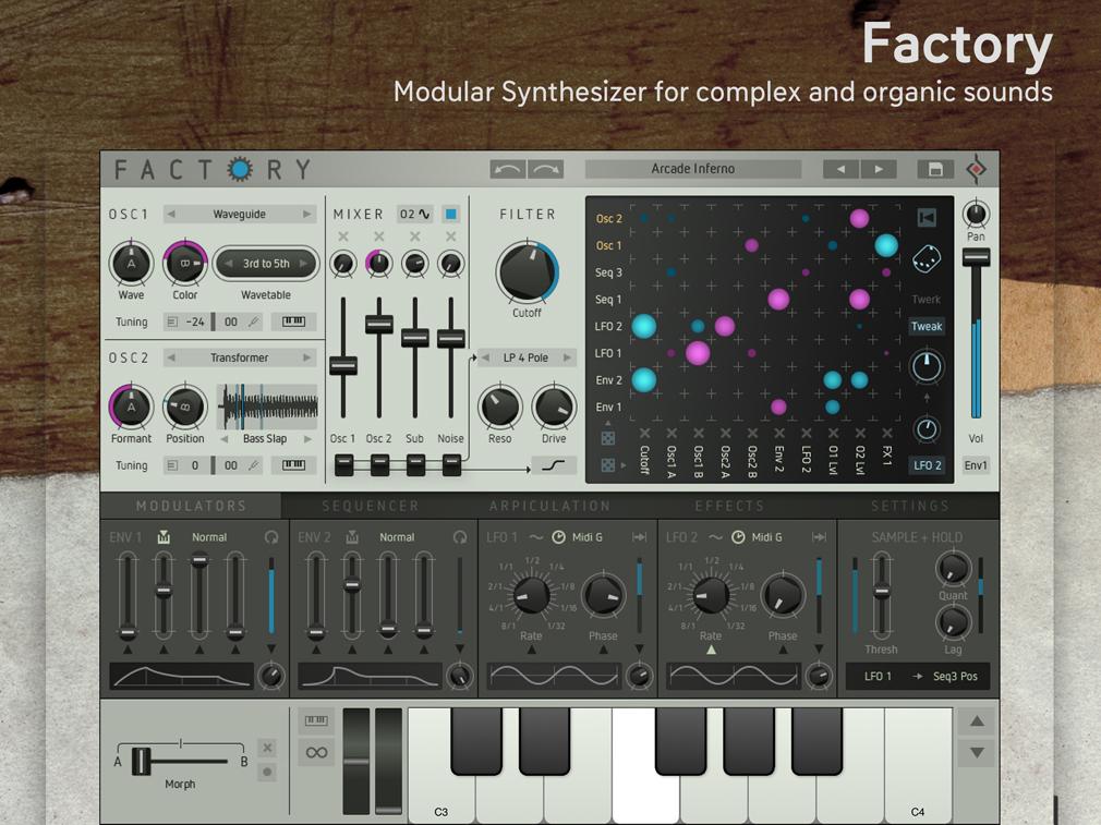 Factory iPad Edition