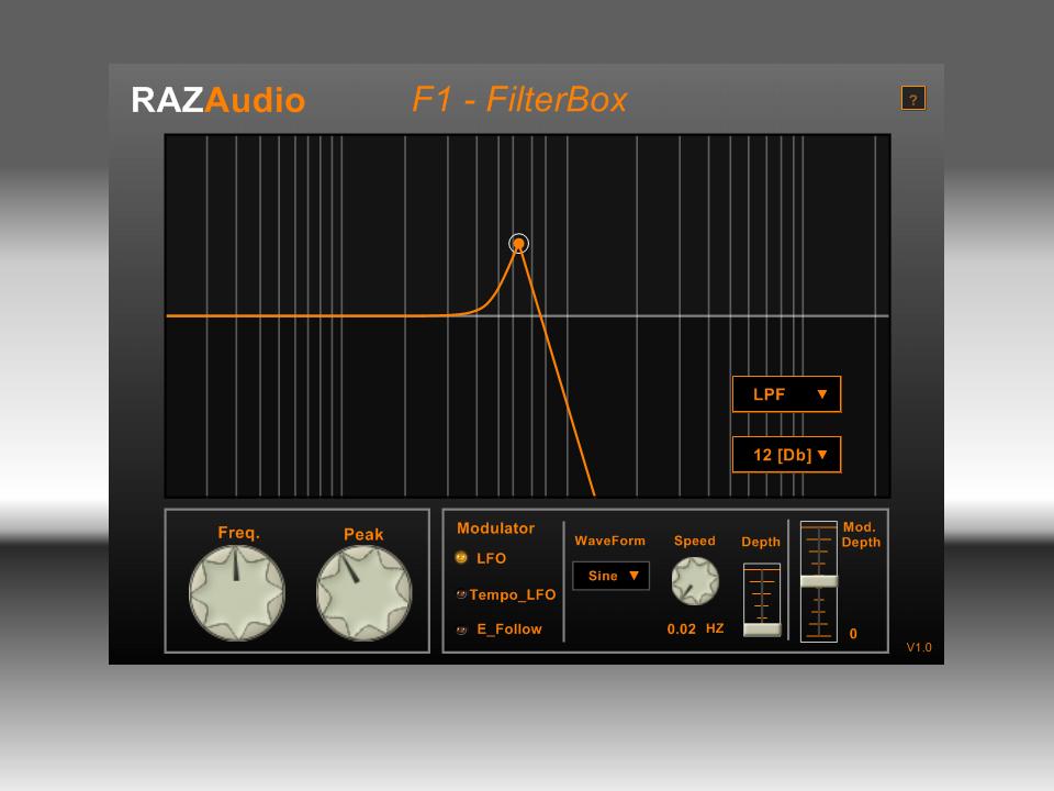 F1 FilterBox
