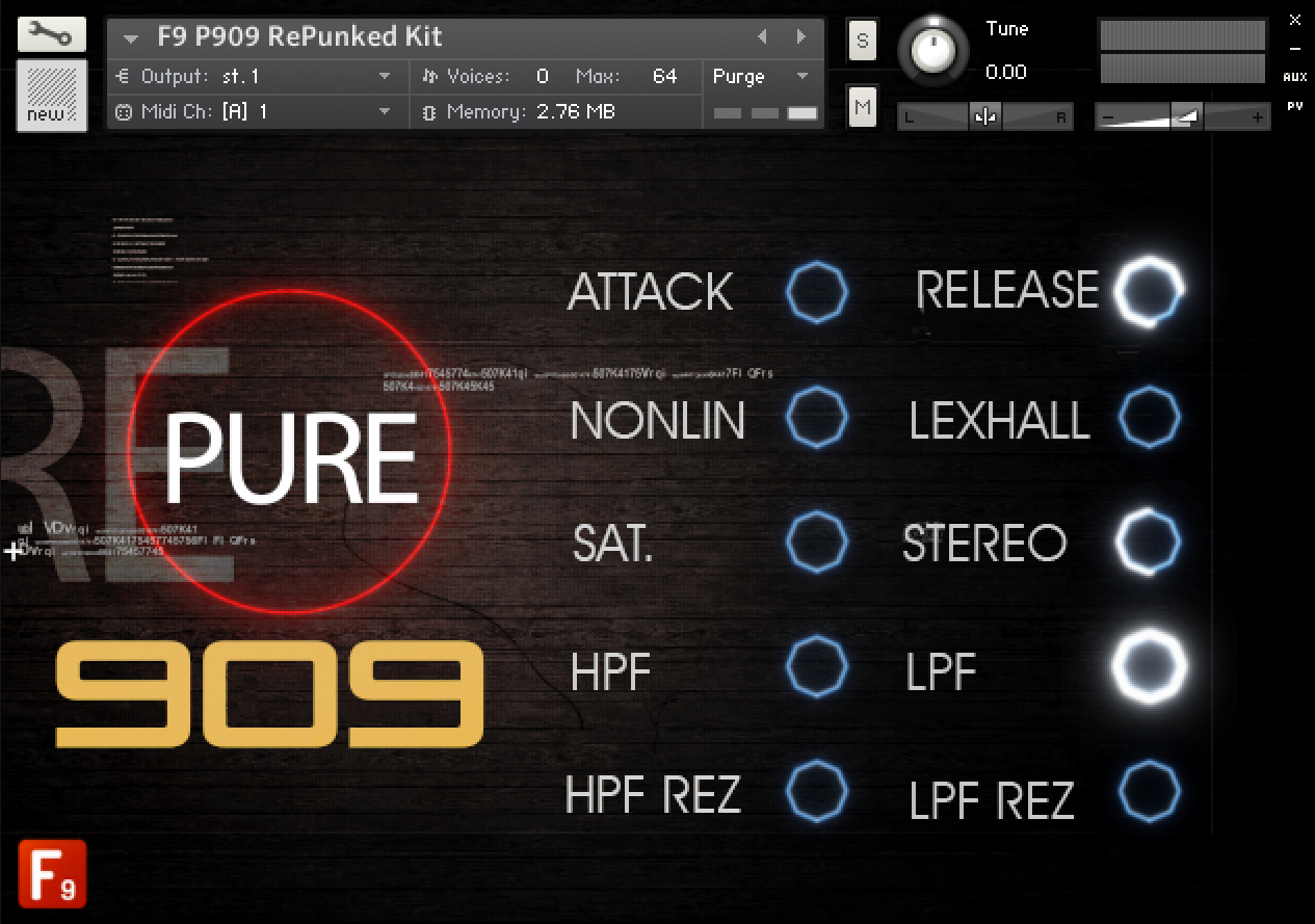 KVR: F9 Audio releases Pure 909 Stems and Kits