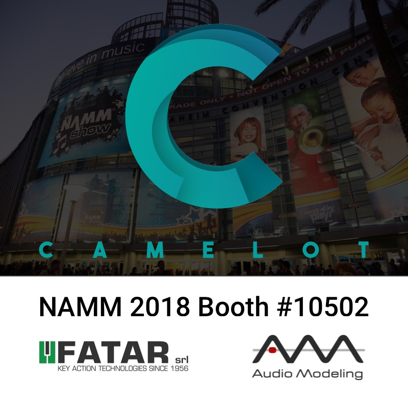 KVR: Audio Modeling and Fatar will be together at the NAMM Show 2018