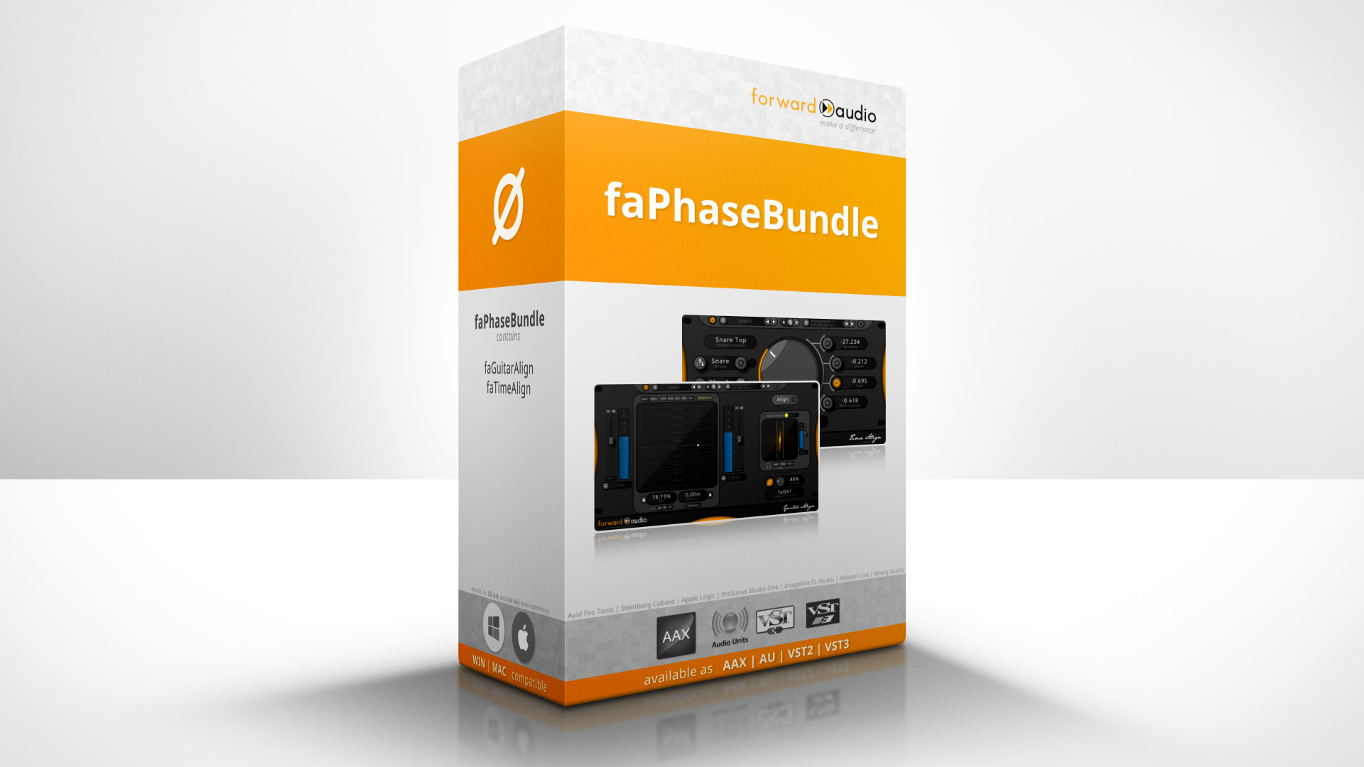 Picture of faPhase Bundle from forward audio