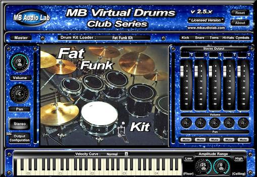 KVR: MB Virtual Drums Club Series by MB Audio Lab - Drums