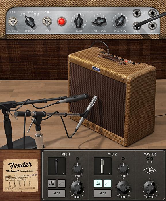 kvr fender 39 55 tweed deluxe by universal audio guitar amp emulation vst plugin audio units. Black Bedroom Furniture Sets. Home Design Ideas