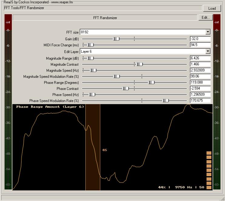 FFT Randomizer plugin virtuel gratuit
