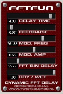 FFTfun Dynamic Delay