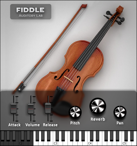 Auditory Lab Fiddle Plugin - (Pc/Mac VST, AU)