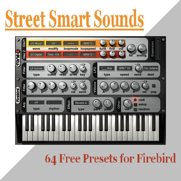 'Street Smart Sounds' for Tone2 Firebird