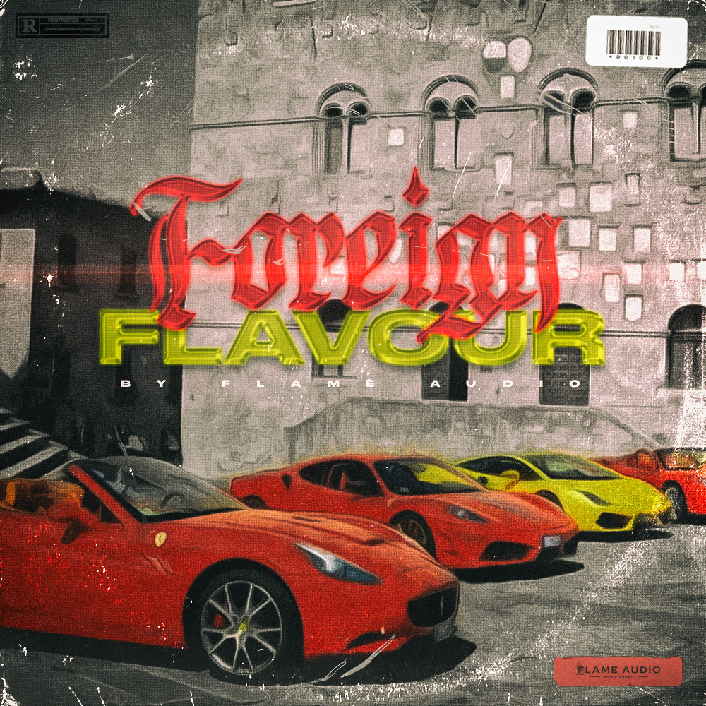 Flame Audio - Foreign Flavour - Sample MIDI Pack - Cover