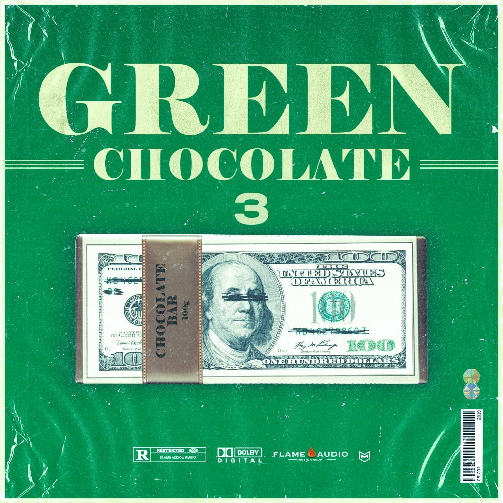 Flame Audio - Green Chocolate 3 - Sample MIDI Pack - Cover