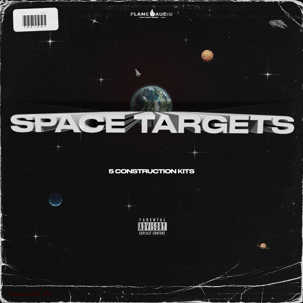 Flame Audio - Space Targets - Construction Kits - Cover