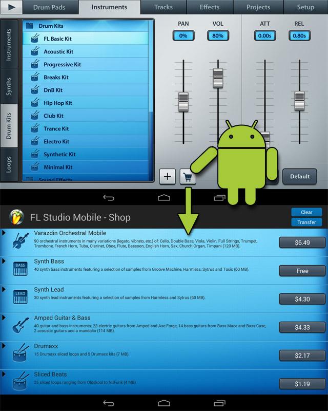 Kvr: image line updates fl studio mobile for android to v1. 3.