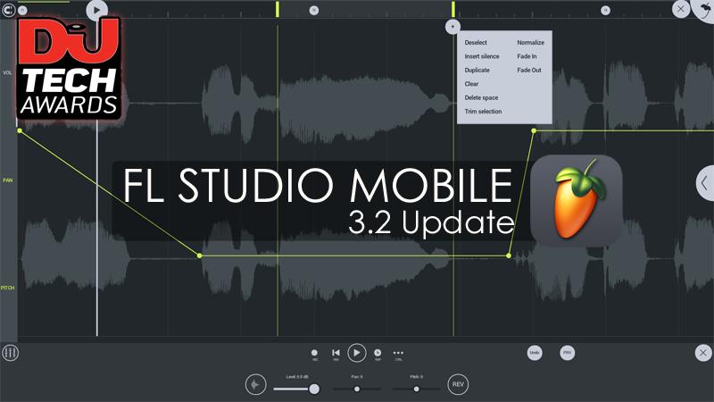 KVR: Image Line updates FL Studio Mobile to v3 2