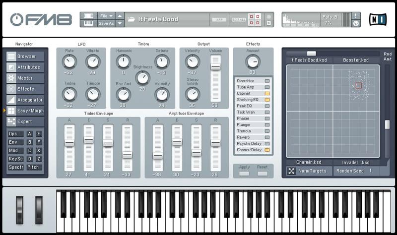 KVR: FM8 by Native Instruments - Synth (FM) VST Plugin, Audio Units