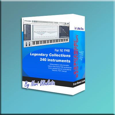Legendary Collection Soundbank for NI FM8