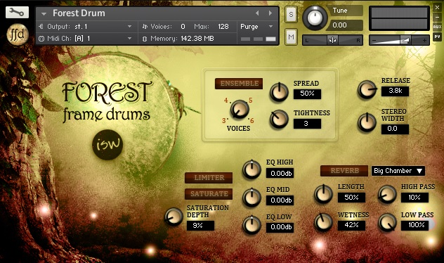Forest Frame Drums