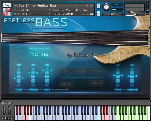 Ilya Efimov Fretless Bass