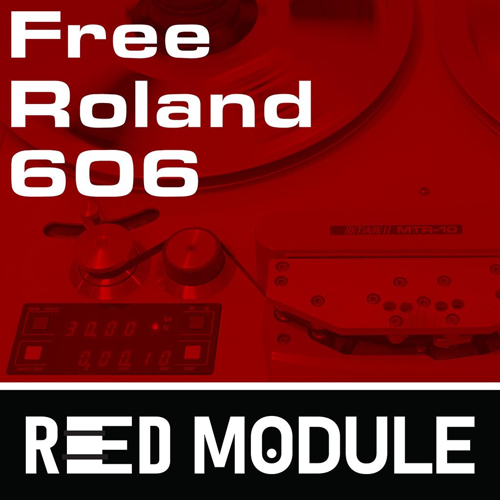 Free Roland TR-606 Analog Tape Drums