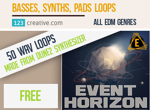 Free Event Horizon - Loops (made from Dune 2 presets)