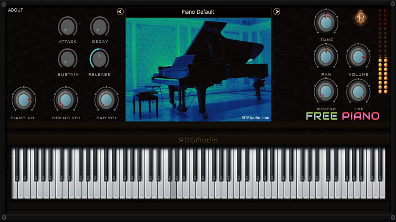 KVR: Free Piano by RDGAudio - Piano VST Plugin, Audio Units Plugin