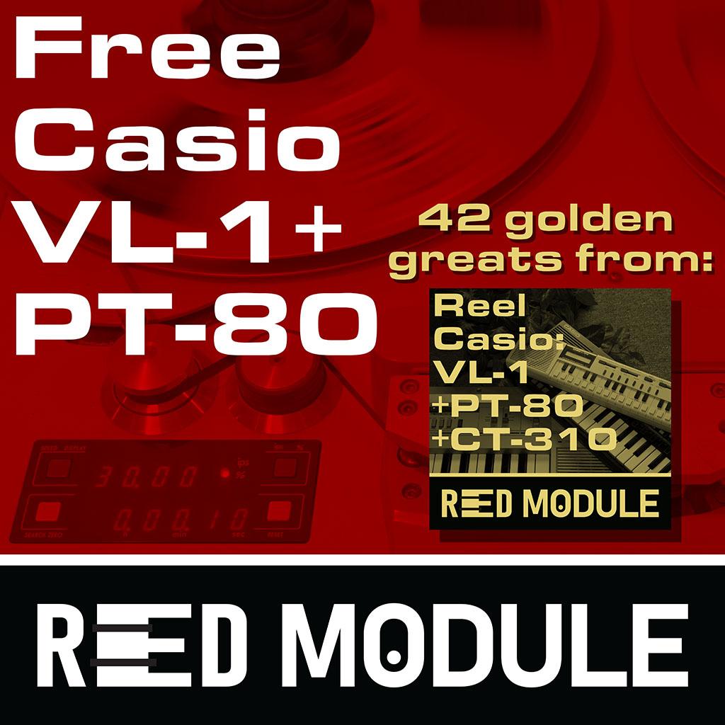 Free Casio VL-1 + PT-80 Analog Tape Drums