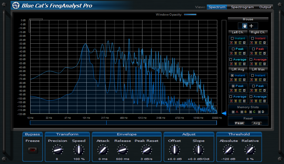 Kvr Blue Cat S Freqanalyst Pro By Blue Cat Audio