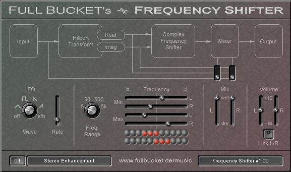 Full Bucket's Frequency Shifter