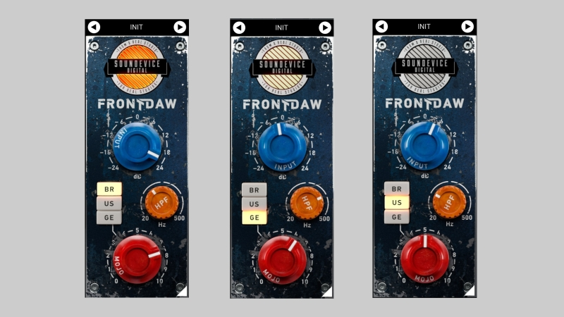 Front DAW by Soundevice Digital