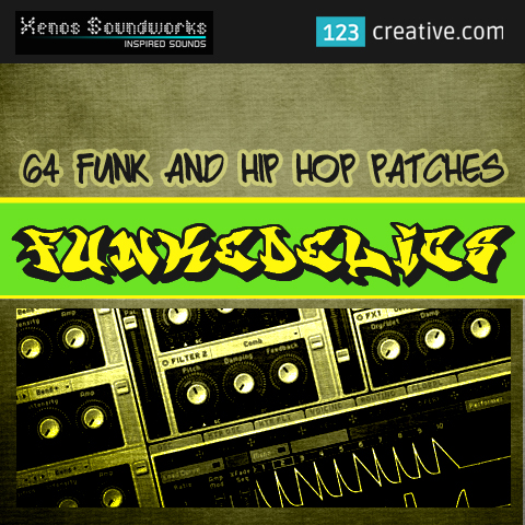 Funkedelics - Funk and Hip Hop patches for Massive