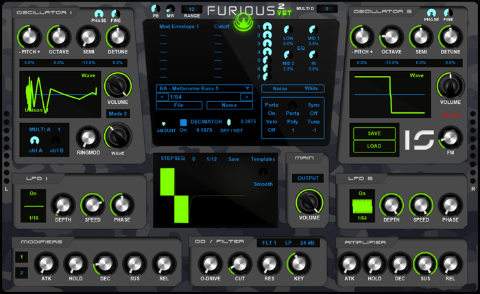 Furious 2 VST