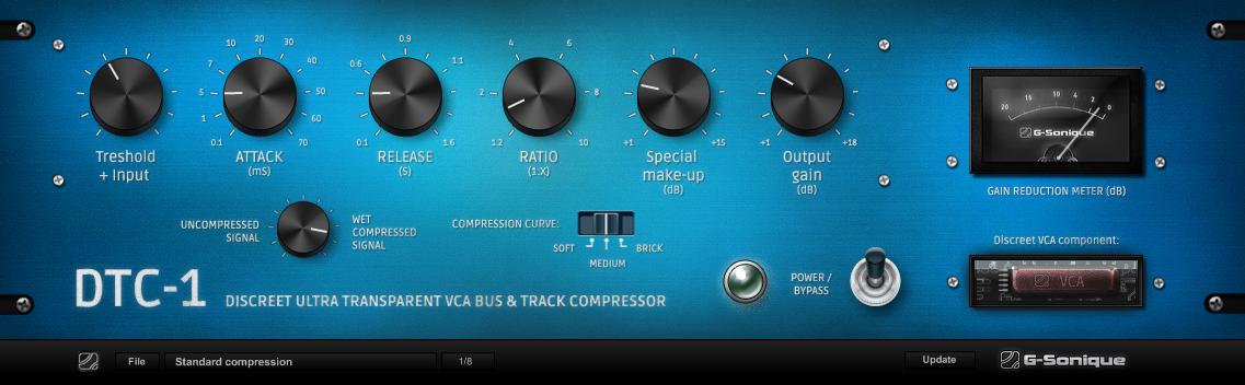 DTC-1 Ultra transparent compressor