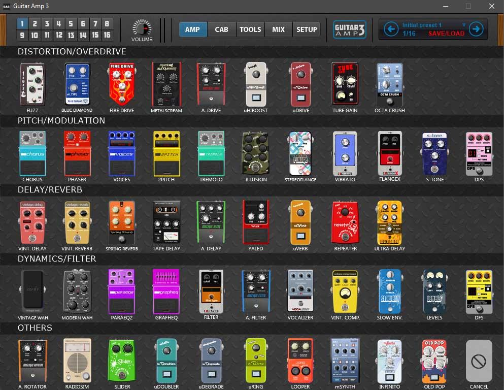 kvr guitar amp by plektron guitar multi fx vst plugin and standalone application. Black Bedroom Furniture Sets. Home Design Ideas