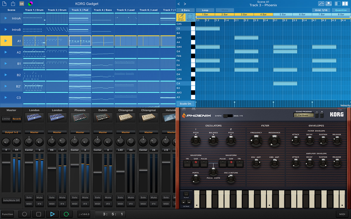 KVR: Gadget by Korg - Music Studio VST Plugin, Audio Units Plugin